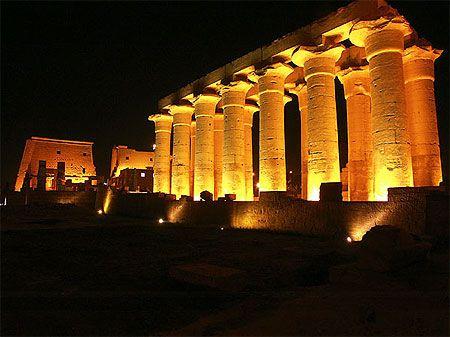 Temple de Louxor - Egypte