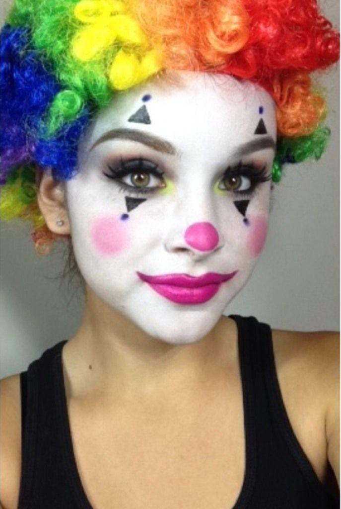 Superb Girly Halloween Makeup Ideas Ohh My My Cute Clown Makeup Clown Makeup Carnival Makeup