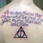 Harry Potter related tattoos - Tube Tattoo