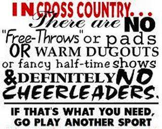 Grady High School Cross Country: Fun Cross Country Sayings: