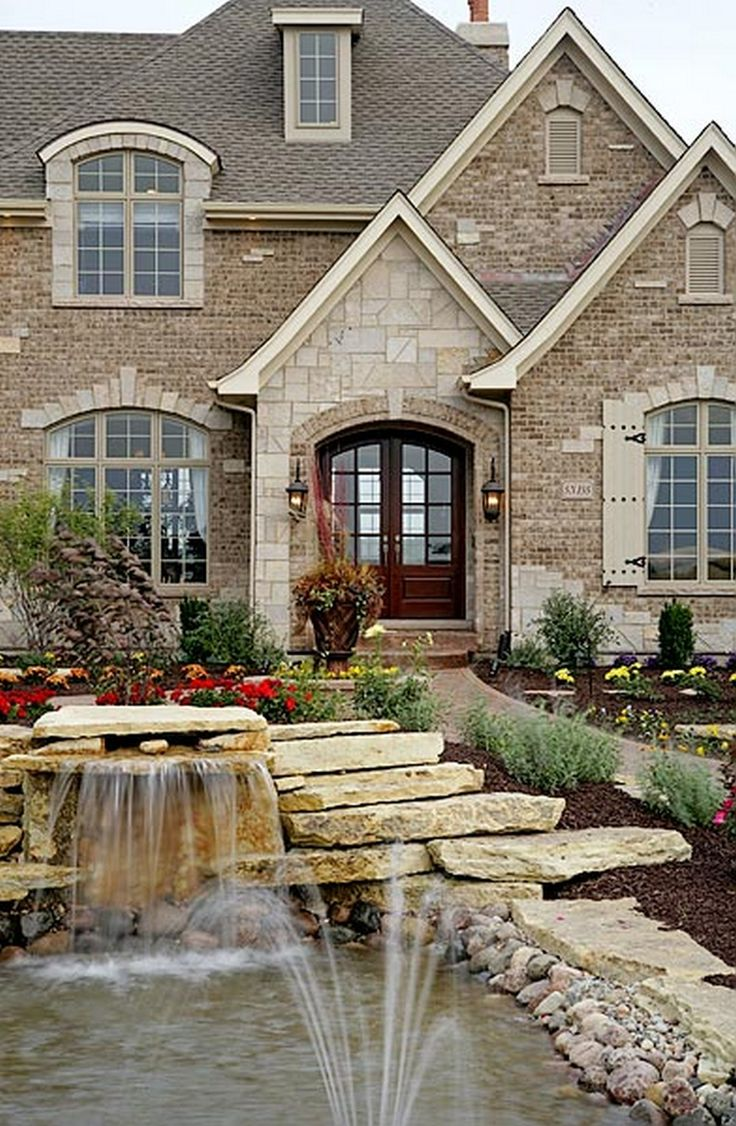 1000 ideas about brick exteriors on pinterest house for Exterior brick home designs