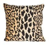 Leopard Print Pillow - Without Down Insert $70.00