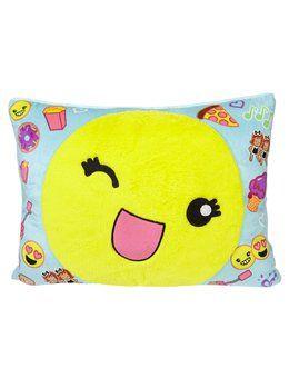Emoji Full Size Cozy Pillow