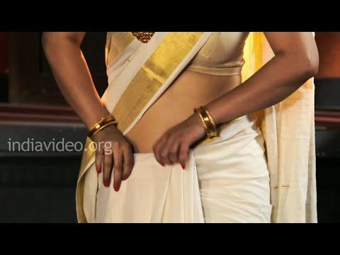 Wear A Saree In 2 Minutes - Quick Saree Draping Tutorial | India Video - YouTube
