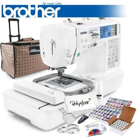 Brother Lb 6800 Prw Project Runway Computerized Sewing