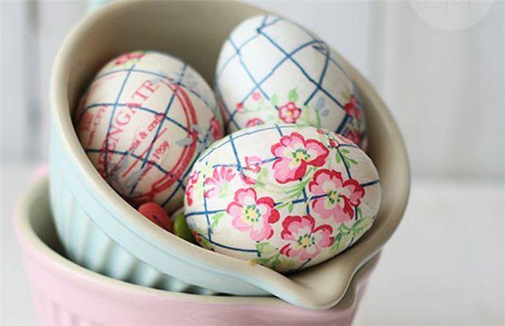 Ιδέα! Πασχαλινά αυγά από…χαρτοπετσέτες χωρίς βάψιμο! (Φωτογραφίες)