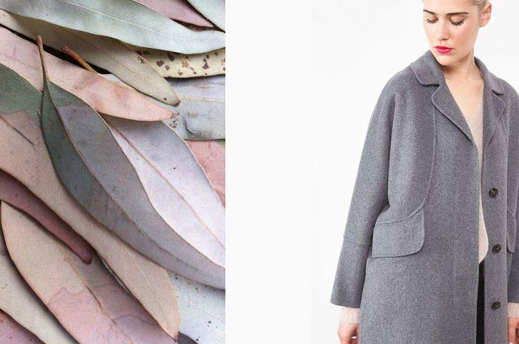 Collection Stella Forest Automne Hiver 2016 Stella Poudre #stellaforest #stellapoudre #pastel #poudre #rosé #fallwintercollection #fashion #mode #plante #landskape #autumn #winter