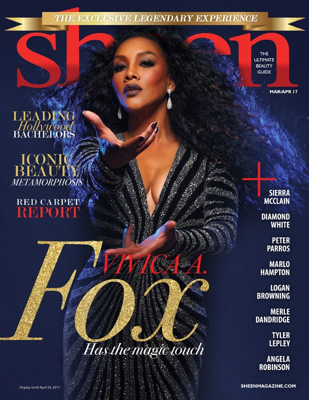 DIARY OF A CLOTHESHORSE: Vivica A. Fox Covers Sheen Magazine Mar/Apr 2017