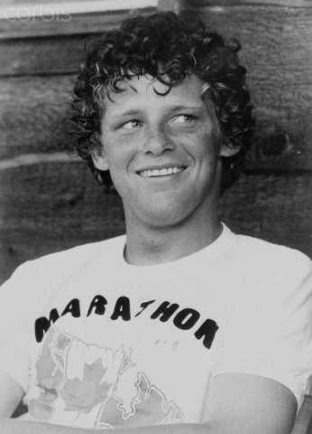 Terry Fox Smiling