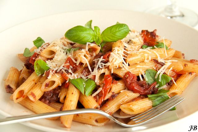 Carolines blog: Penne all' Amatriciana