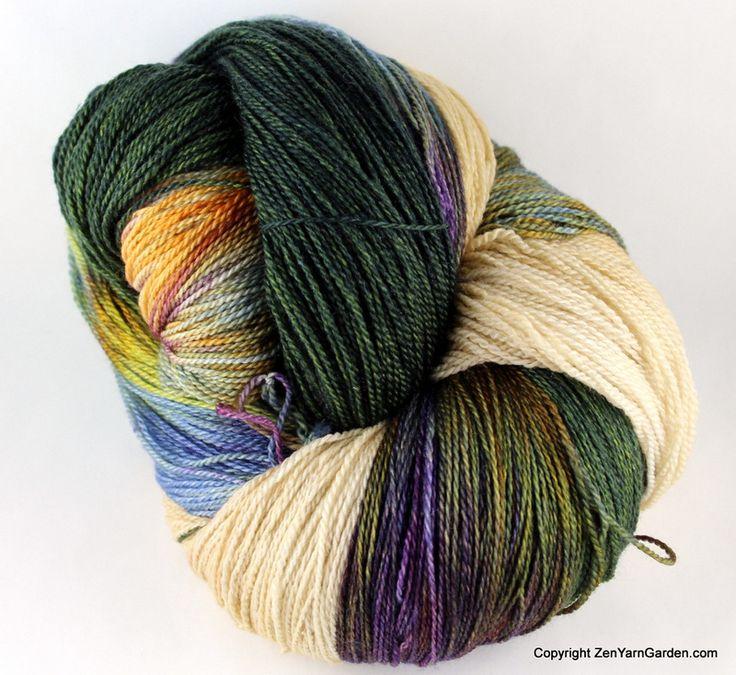 Ohm Shawl Kit (Romi's Garden, OOAK, Yellow Opal)