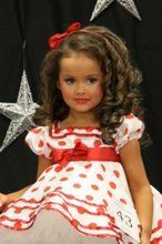 Adorable Glitz Pageant Hair (Toddler)