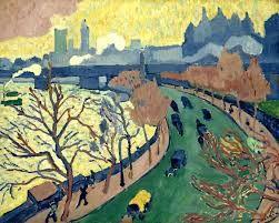 André Derain, Il ponte di Charing Cross, 1906, olio su tela, Museo d'Orsay, Parigi.