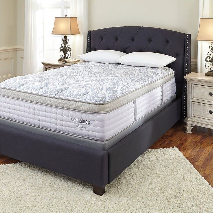 That Furniture Outlet - Minnesota's #1 Furniture Outlet. We have exceptionally low everyday prices in a very relaxed shopping atmosphere. Ashley Mt DANA ET Blue/White Cal King Mattress Set http://ift.tt/2bbD6DE #thatfurnitureoutlet  #thatfurniture