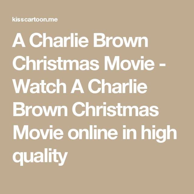 A Charlie Brown Christmas Movie - Watch A Charlie Brown Christmas Movie online in high quality