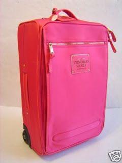 Victoria's Secret Pink Suitcase Cabin Luggage Bag