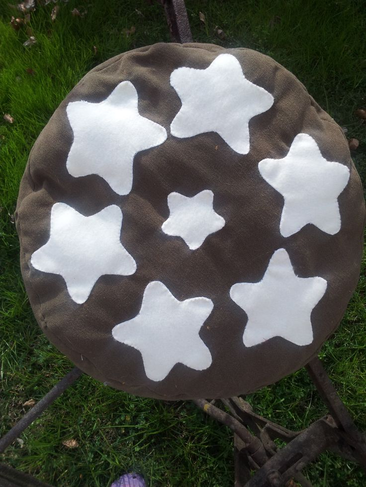 Pan di stelle cuscino - cushion - pillow - cookies
