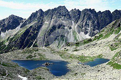 Lake in the mountains Slovakia