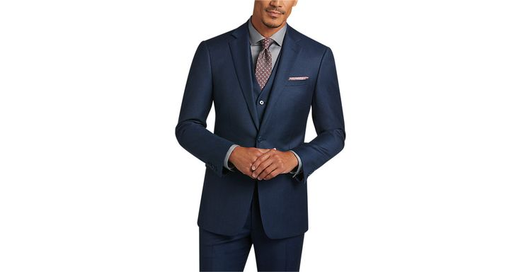 Check this out! Calvin Klein Blue Extreme Slim Fit Suit - Extreme Slim Fit from MensWearhouse. #MensWearhouse