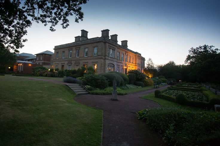Oulton Hall Twilight  Leeds Yorkshire   Images by http://www.andrewfletcher.co.uk/oulton-hall-wedding-venue-leeds-yorkshire-2/