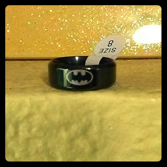 Batman Ring Have two Batman rings size 8 and 9 $10 each obo Jewelry Rings