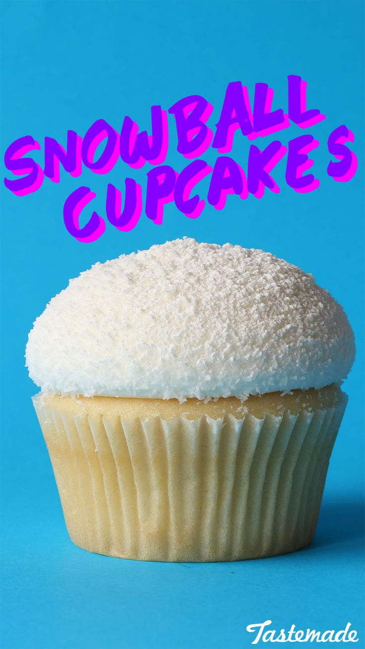 These are the perfect cupcakes to make in winter.