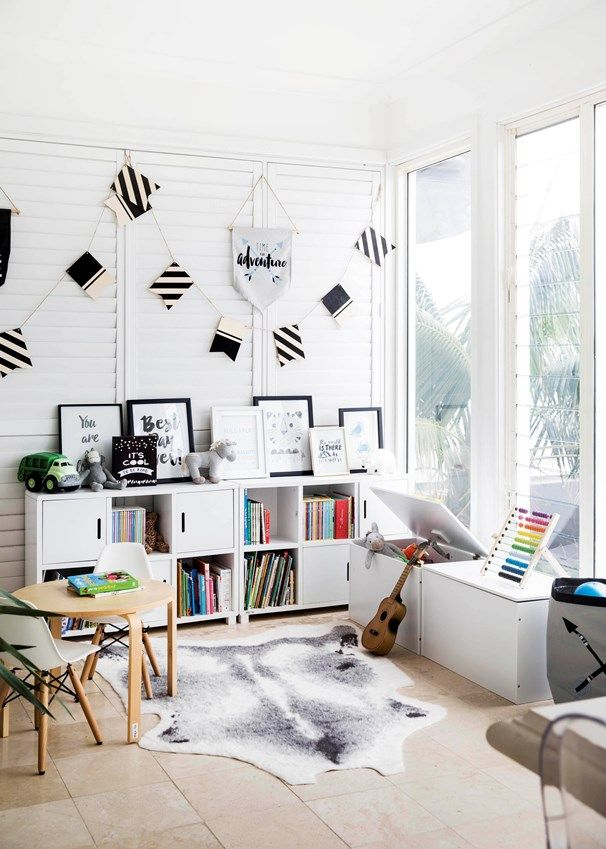 Boys playroom | A sunny corner has become a creative hub for the two boys