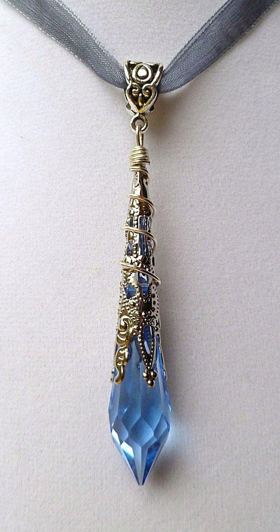 crystal pendulum pendants - Google Search