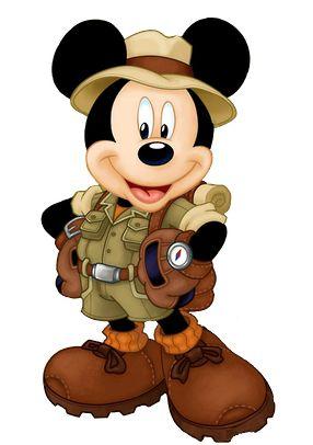 Mickey Safari - Minus