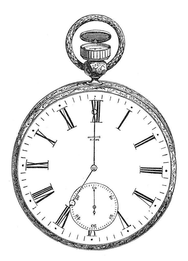 Orologi, tic tac, orologi, tic tac...Vintage Printable