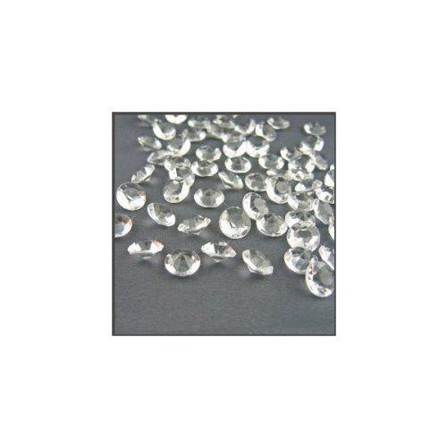 2000 Diamond Table Confetti Wedding Bridal Shower Party Decorations 1 Carat/ 6.5mm Clear  AMAZON w/ PRIME