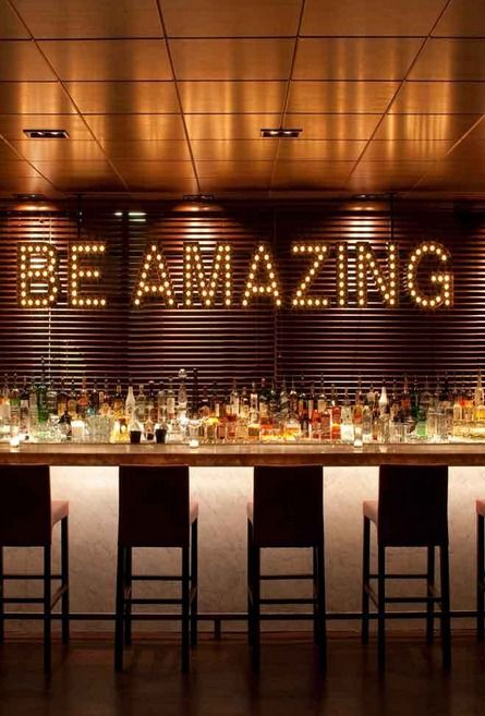 The bar at the Chambers Hotel in San Francisco. Be amazing San Francisco Hotel Interior Designs