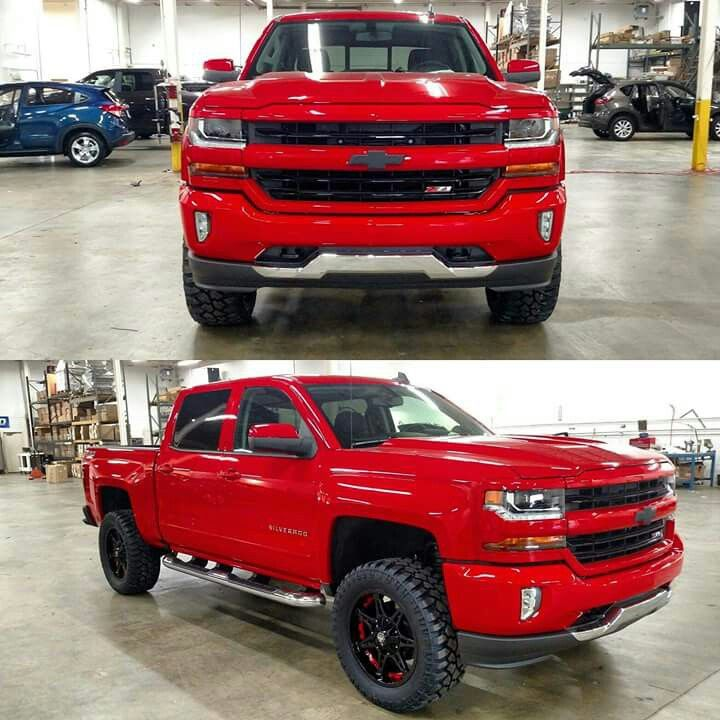 Red 2016 Silverado | Chevy trucks silverado, Chevy trucks ...
