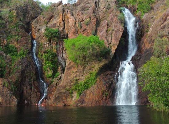 Wangi Falls, Litchfield NP near #Darwin #Australia