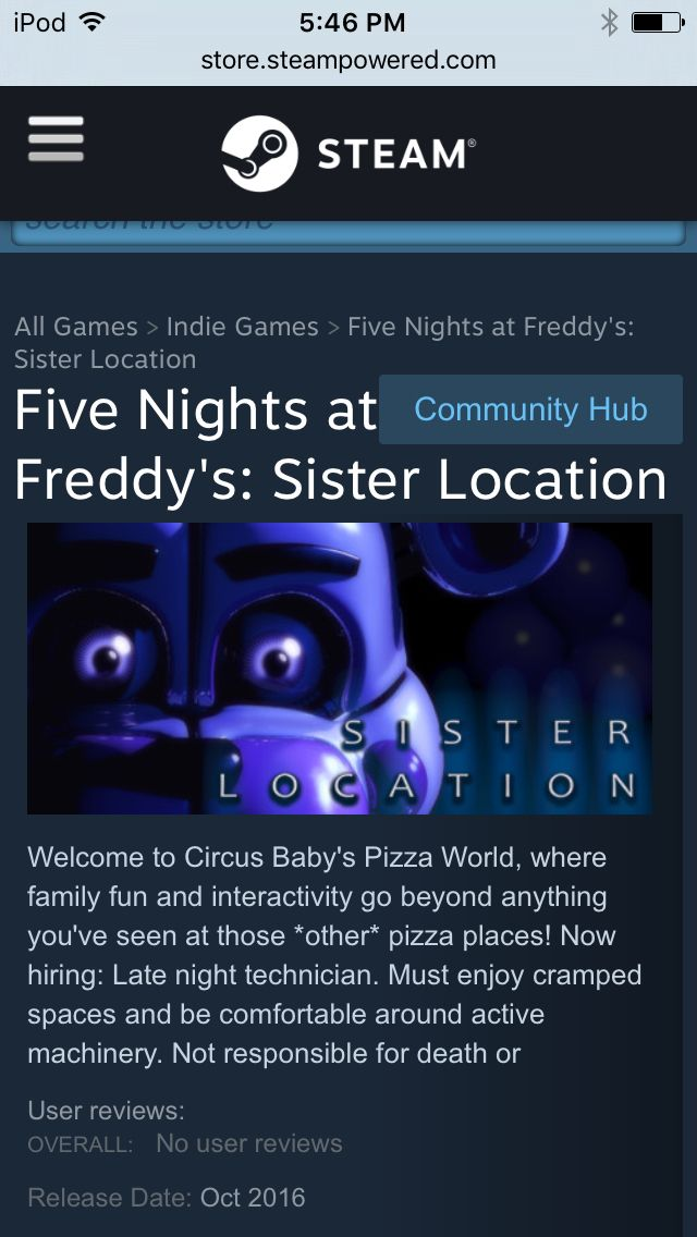 put on 5 nights at freddy songs