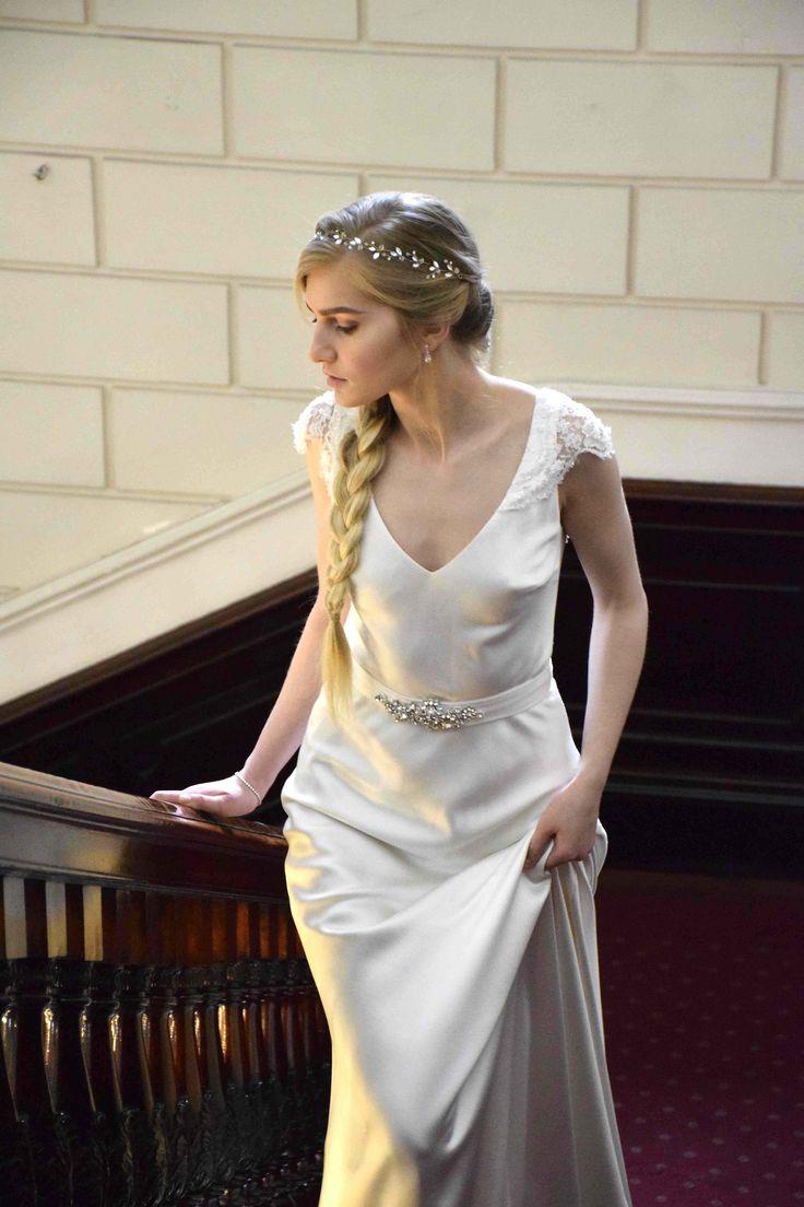 Edwina Arya Hepburn Gown www.edwinaarya.com #edwinaarya #bridalcouture #weddingdresses