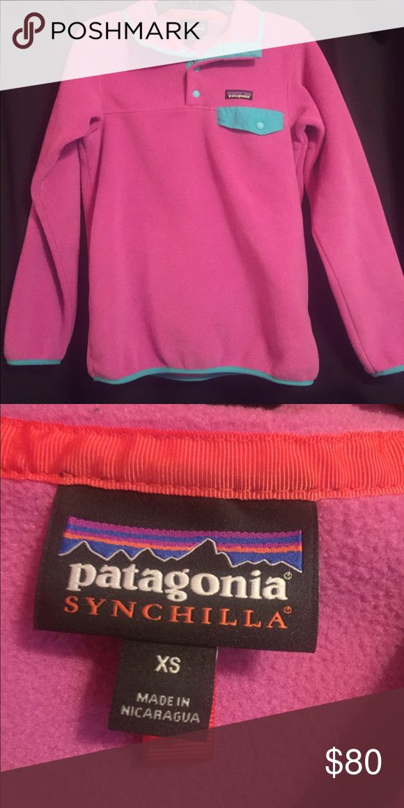 Patagonia Fleece jacket Fleece pullover jacket from Patagonia! Only worn twice in perfect condition!! Make me an offer! Patagonia Jackets & Coats Puffers
