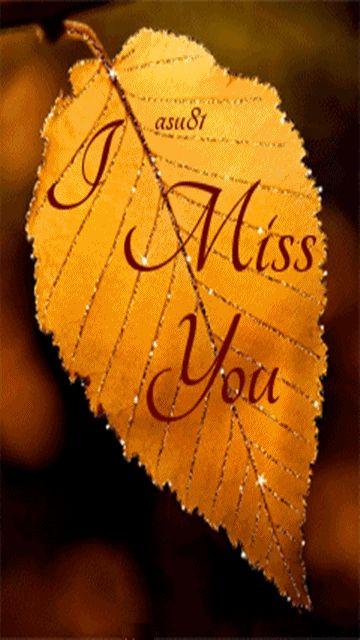Eu sinto sua falta