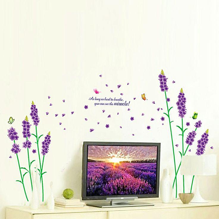 Beautiful Wandtattoo Schlafzimmer Wohnkultur Vinyl Aufkleber Tier Baum Lavender Big Ben eBay