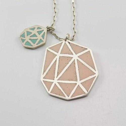 marta lugo etsy: Marta Lugo, Jewellery, Lugo Jewels, Lugo Etsy, Sterling Silver, Fun Necklaces, Accessories, Geo Jewelry, Geometric Necklaces