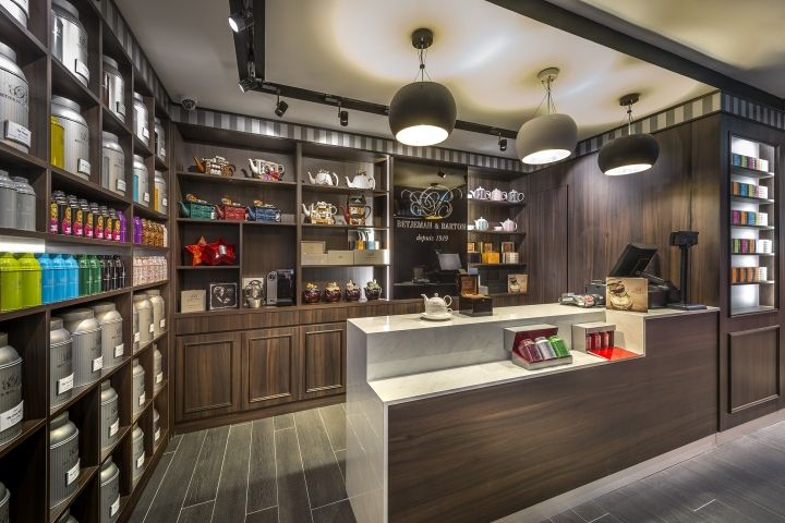 Betjeman & Barton Tea Boutique by iRetail Interior Design Company, Singapore