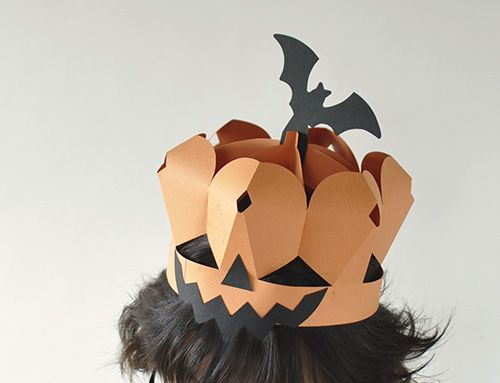A4用紙でできるハロウィンカボチャ仮装マスクの作り方【マゴクラ】ダンボールインテリア生活