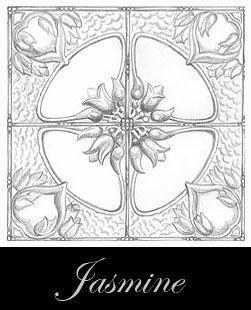 diseño del techo de metal prensado - Jasmine