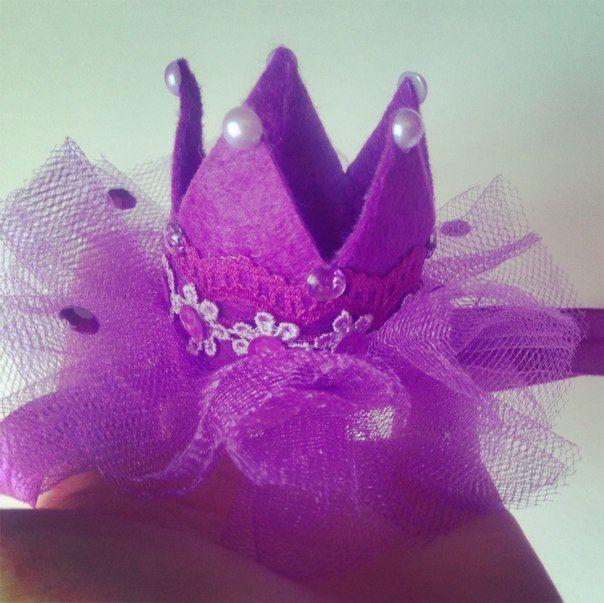 Корона из фетра #mamuliny_sokrovishcha #мамины_сокровища #фетр #felt #crown