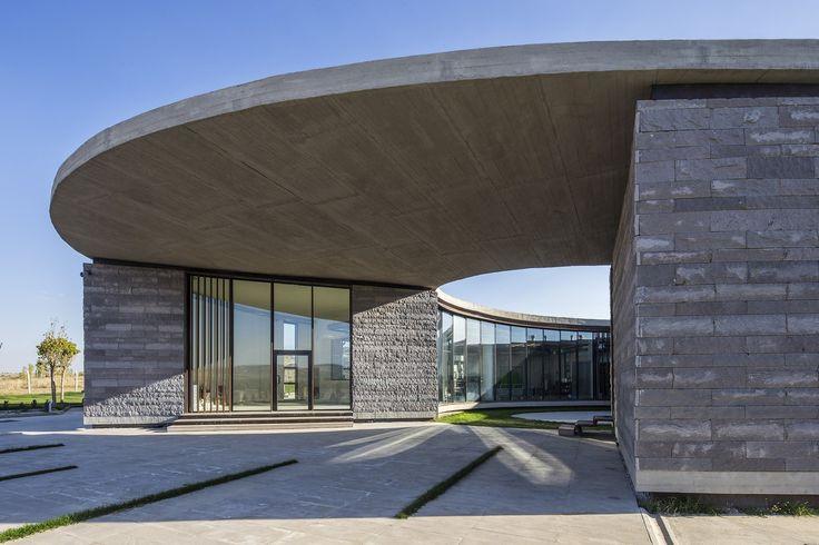 THE FARM OF 38°30° DAIRY FACTORY by Slash Architects http://www.archello.com/en/project/farm-38%C2%B030%C2%B0-dairy-factory?utm_content=bufferf3dda&utm_medium=social&utm_source=pinterest.com&utm_campaign=buffer Photo by: Courtesy of Slash Architects