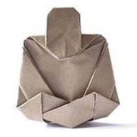 Origami: vouw je eigen boeddha