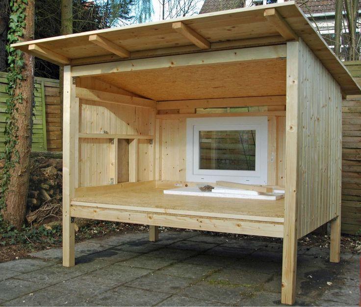 die besten 25 kaninchenstall bauen ideen auf pinterest. Black Bedroom Furniture Sets. Home Design Ideas