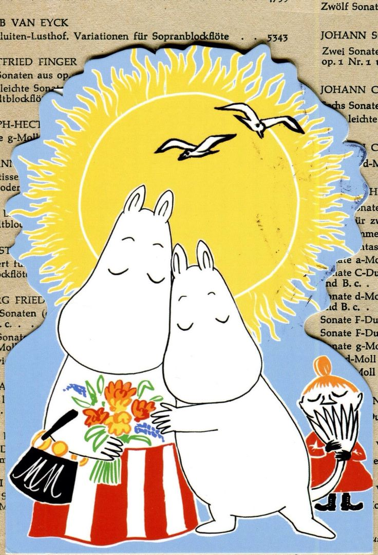 #Moomin  #postcard