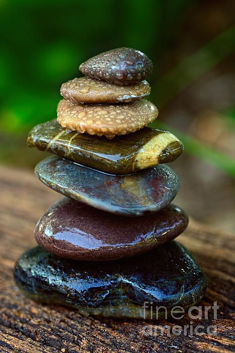#ZEN #ART #BALANCE #WET #ROCKS by #Kaye #Menner #Photography Quality Prints Cards Products at: http://kaye-menner.pixels.com/featured/zen-art-balance-wet-rocks-by-kaye-menner-kaye-menner.html