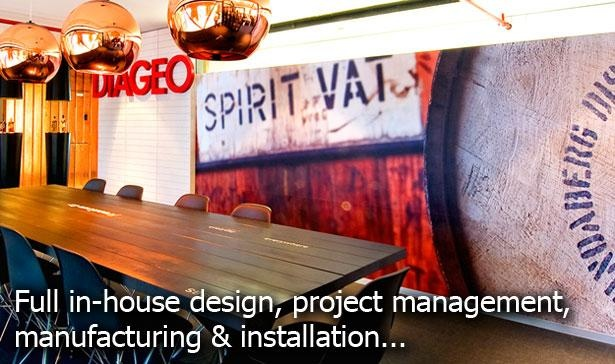 Full in-house signage design, manufacturing and installation in Australia by www.kawanasigns.com.au